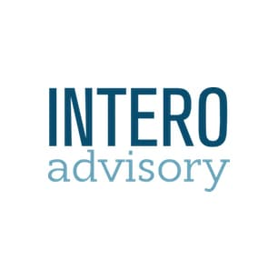 Intero Advisory Logo Square White
