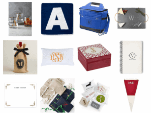 MONOGRAM HOLIDAY GIFT GUIDE