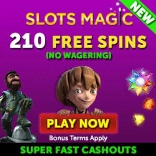 Slots Magic Casino free spins