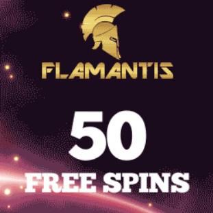 Flamantis Casino €3 no deposit bonus + 50 free spins (SCAM!)