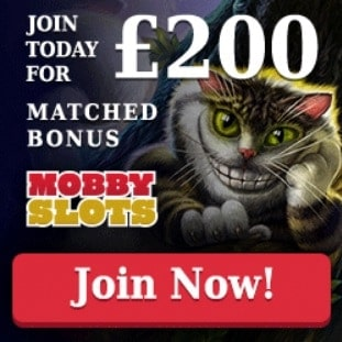 Moby Slots Casino free spins