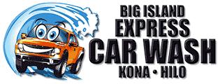 Big Island Express Car Wash logo