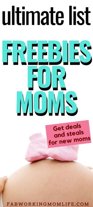 ultimate list of freebies for moms