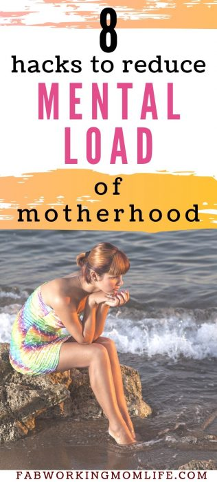 hacks to reduce mental load of motherhood