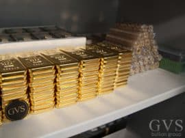 Gold, Lagerung GVS Bullion