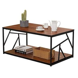 VECELO Modern Coffee Tea Table