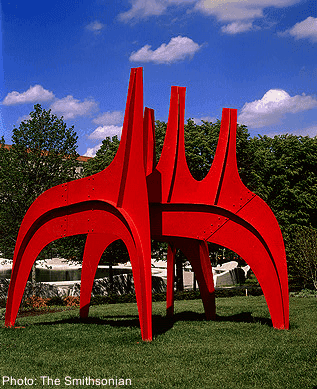 The sculpture garden in washington, d. C.