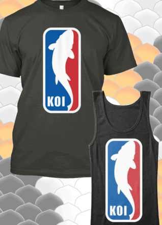 Koi tees now available!