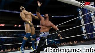 تحميل لعبة WWE 2015 من ميديا فاير