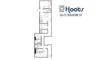 33 Bouverie Flat 2 Chester - Student Accommodation