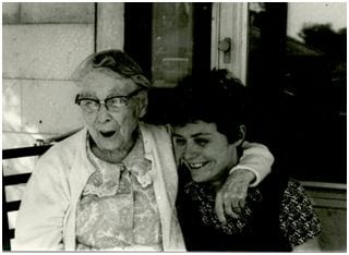 Susan Brown and Grandmother