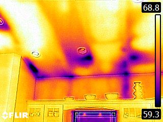 attic insulation thermal 4 - Thermal Imaging
