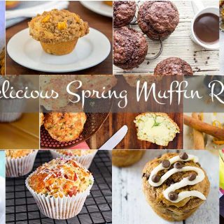 From sweet to savory, these 11 delicious muffin recipes from 11 of my favorite bloggers are perfect for the next 11 weeks of Spring.