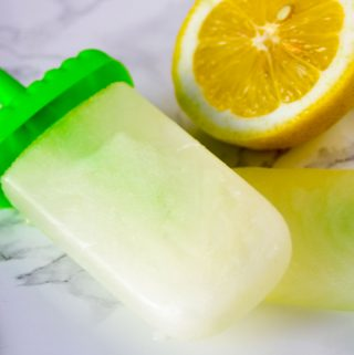 Spiked lemonade popsicles are tart, tangy, and refreshingly sweet. With only four ingredients they are a deliciously adult take on a summertime classic.