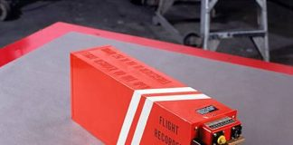 Photo of a Flight Recorder or black box