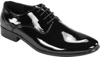 Leather Dress Shoe Lace Up Black