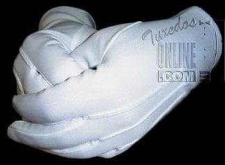 MENS Formal Gloves WHITE Gloves for Formal occasions Butler Gloves