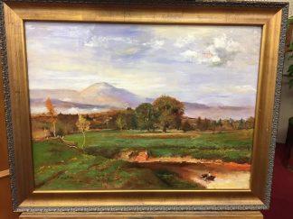 """Original Oil on Canvas, Signed """"D. Ouellette"""""""