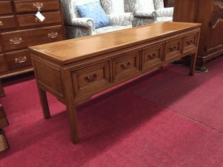 Hekman Vintage Sofa Table