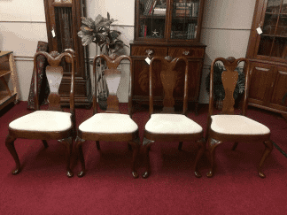 Hickory Chair Mahogany Dining Chairs - Set of Four