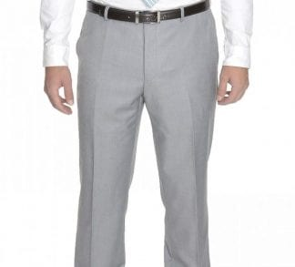 Men's Light Gray Dress Pants
