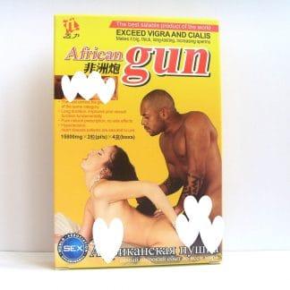 Средство для повышения потенции AFRICAN GUN АФРИКАНСКАЯ ПУШКА
