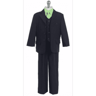 Boys Suit Black Stripe Infant Toddler Children Teen Suit Closeout