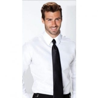 White Non Pleated Tuxedo Shirt Microfiber