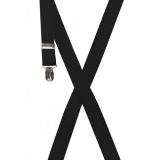 Boys Suspenders Black
