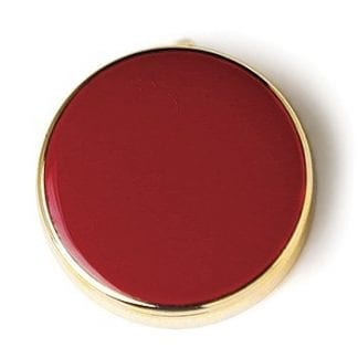 Button Cover Navy Red