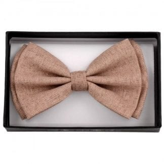 Bow Tie Cotton Khaki