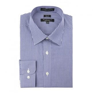 Gingham Dress Shirt Cheeker Slim Fit Dress Shit