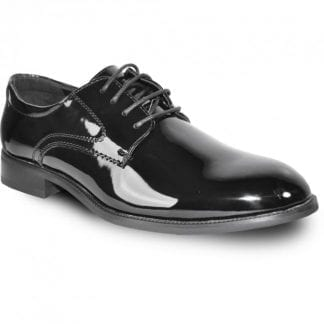Tuxedo Shoes Black Patent Leather