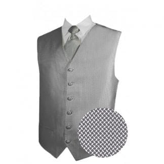 New Mens Big & Tall Vest With Bowtie, Tie, Hanky