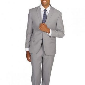 light gray Mens Slim Suit