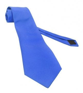 Royal Blue Self Tie Necktie