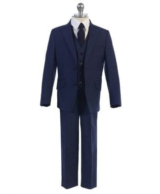 Boys Slim Fit Suit Wedding or Ring Bearer Suit Many Colors