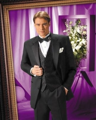 Tuxedo Black Shawl Lapel Slim Microfiber One Button Prom Or Wedding Tuxedos