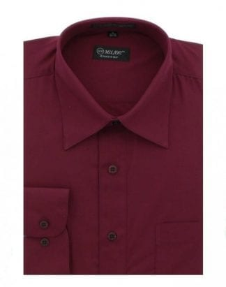 Burgundy Dress Shirt Milani