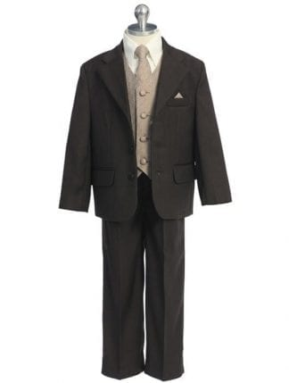 Boys Velvet Notch Lapel Sports Coat Only- Blazer-Jacket Available in Burgundy- Navy or Black