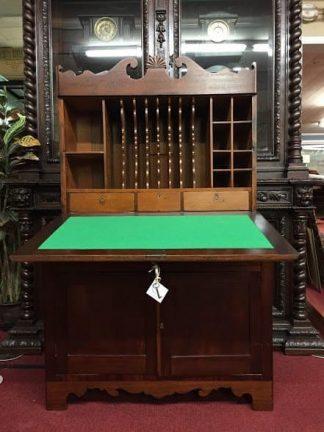 drop front mahogany secretary desk
