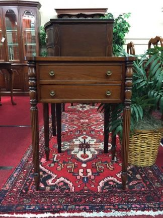 Norris Furniture Two Drawer End Table