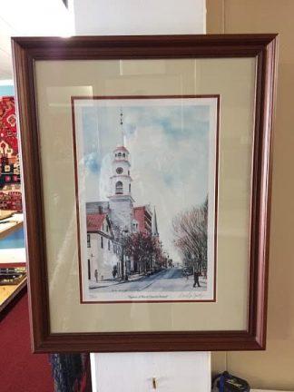 """Spires of West Church Street"" by David G. Yontz"