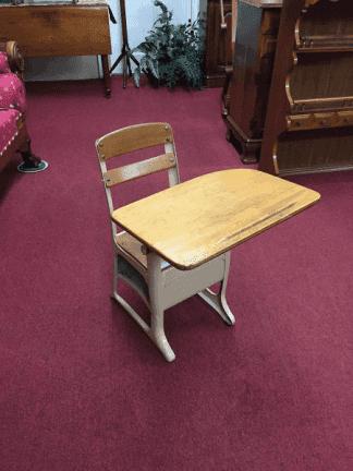 Vintage Child's School Desk