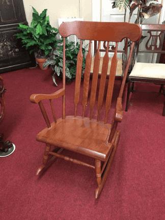 Cherry Finish Rocking Chair