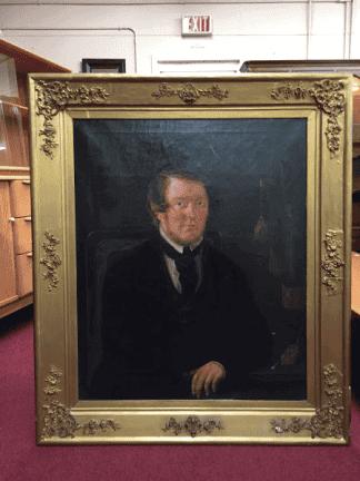 Antique Oil on Canvas Portrait