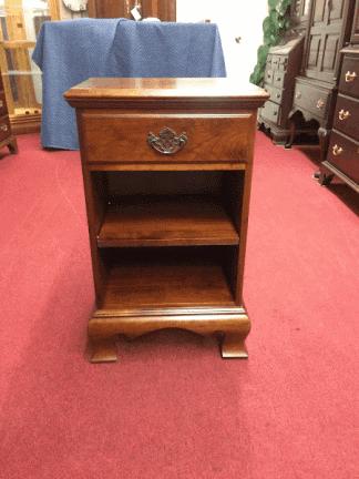 Vintage Cherry One Drawer Nightstand