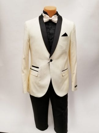 Lavender with Black Shawl Lapel One Button Tuxedo- Prom 2019 – Wedding