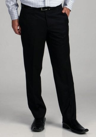 Dress Pants BLACK Non-Pleated Affordable Dress Pants