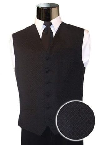 Boys Tuxedo Vest All Colors Satin Backless Vest
